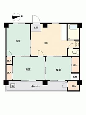 マンション(建物一部)-長崎市飽の浦町 間取り