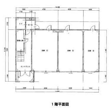 マンション(建物全部)-本庄市銀座2丁目 1階 平面図