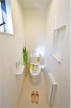 新築一戸建て-仙台市太白区袋原2丁目 トイレ