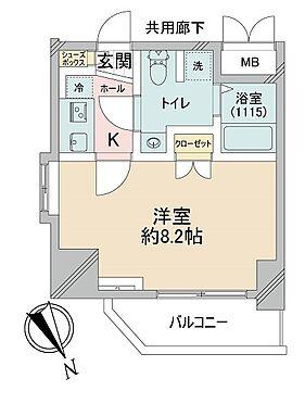 マンション(建物一部)-大阪市福島区海老江7丁目 単身者に人気のアメリカンセパレート