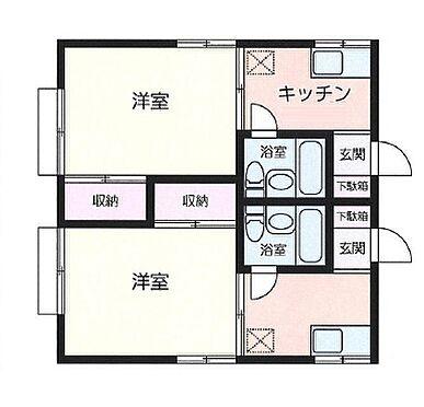 アパート-横浜市港北区菊名 間取り