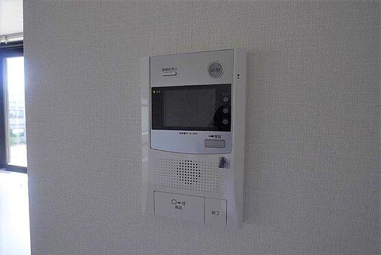 マンション(建物一部)-北九州市八幡西区陣原2丁目 TVモニターホンは不審者や無用なセールスの侵入を防ぐことができます。