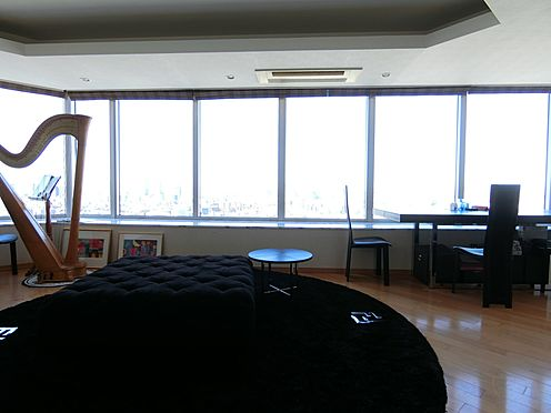中古マンション-港区白金1丁目 約20.6帖のリビング・ダイニング(掲載中の家具等は販売価格に含まれません。)