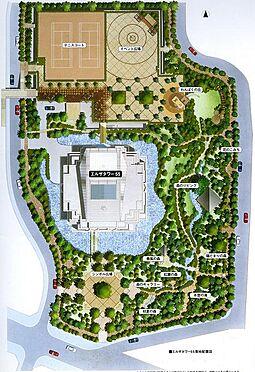 マンション(建物一部)-川口市元郷2丁目 敷地内の構図