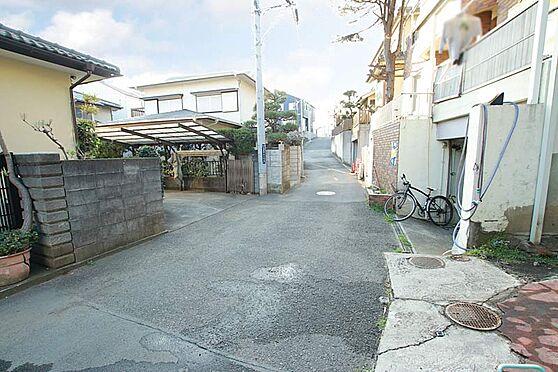 アパート-茅ヶ崎市中海岸4丁目 前面道路