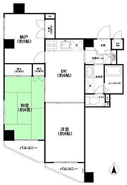 マンション(建物一部)-足立区西新井本町3丁目 間取り