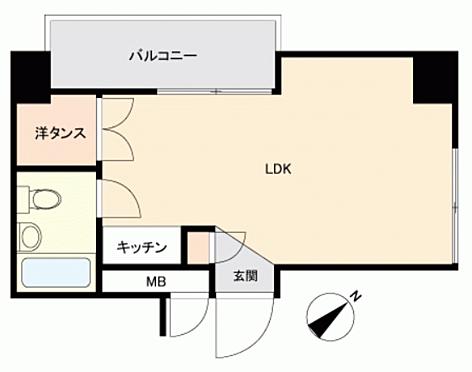 中古マンション-神戸市中央区相生町4丁目 間取り