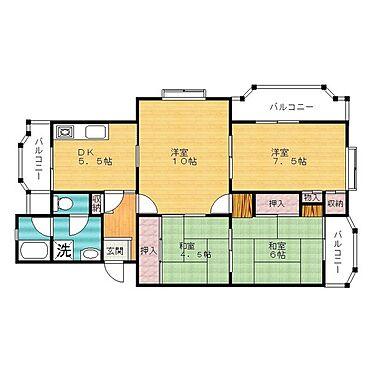 マンション(建物一部)-加古川市平岡町山之上 間取り