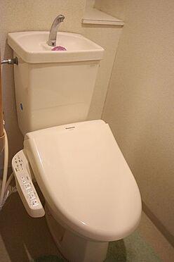 中古マンション-桜井市大字谷 温水洗浄便座を設置しております。