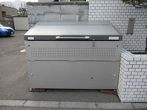 区分マンション-札幌市豊平区中の島一条7丁目 ゴミ捨て場の写真になります。