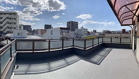 ビル(建物全部)-大阪市淀川区十三元今里1丁目 4F 屋上バルコニー