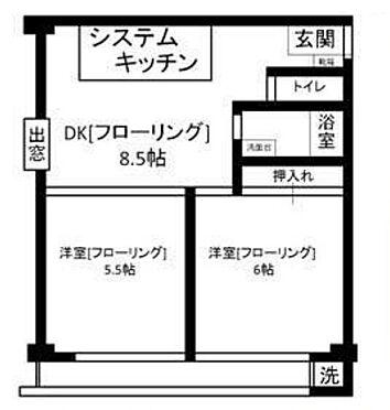 マンション(建物一部)-文京区小石川5丁目 間取り