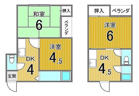 マンション(建物全部)-大阪市住吉区山之内3丁目 間取り
