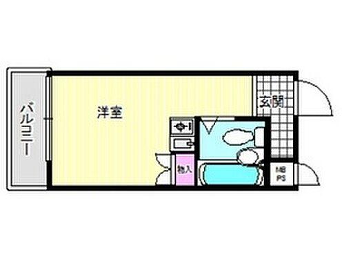 マンション(建物一部)-大阪市東住吉区南田辺1丁目 間取り