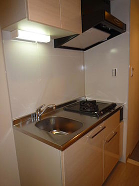 マンション(建物一部)-品川区荏原4丁目 2口ガスコンロのシステムキッチンです。