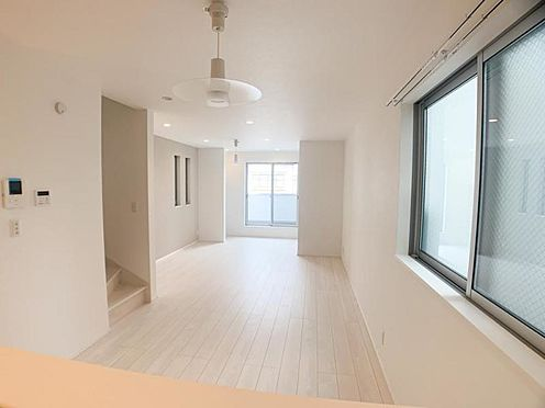 中古一戸建て-名古屋市西区栄生3丁目 リビングを見渡せる対面式キッチン♪