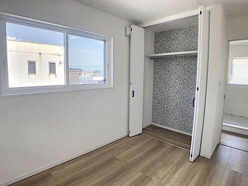 戸建賃貸-西尾市吉良町木田祐言 各居室に収納完備、お部屋を広く使えます!