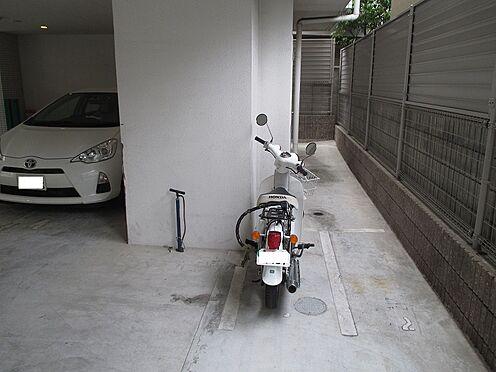 中古マンション-大阪市東成区玉津1丁目 バイク置き場です