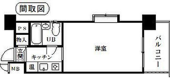区分マンション-名古屋市東区出来町1丁目 間取り
