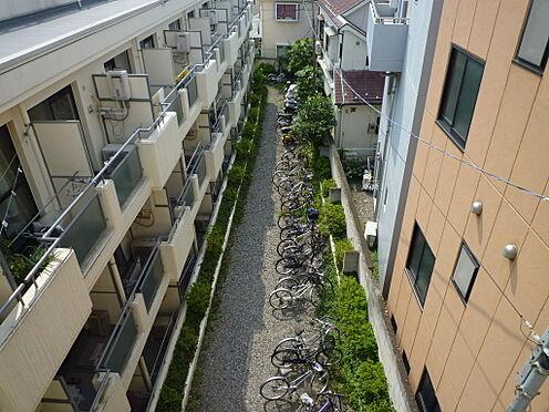 マンション(建物一部)-中野区新井2丁目 上空からの駐輪スペースの様子