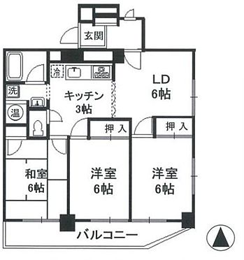 区分マンション-豊島区目白2丁目 間取り