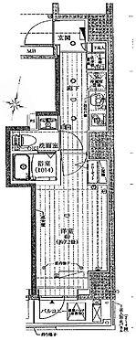 区分マンション-墨田区太平2丁目 間取り