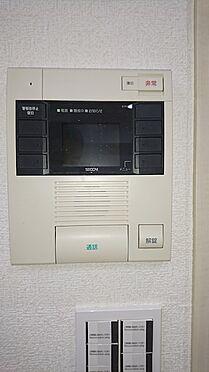 中古マンション-越谷市大字大房 来訪者が分かるモニター付きインターホンです