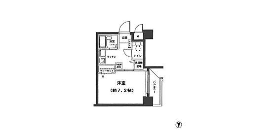 マンション(建物一部)-江東区亀戸3丁目 間取り