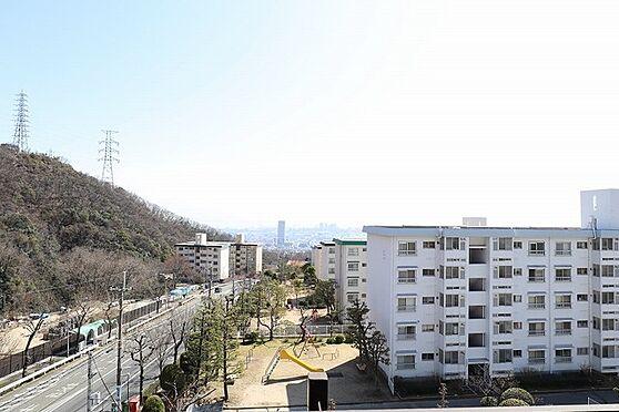 中古マンション-神戸市灘区鶴甲4丁目 バルコニー