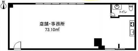 店舗(建物一部)-西東京市東町3丁目 間取り