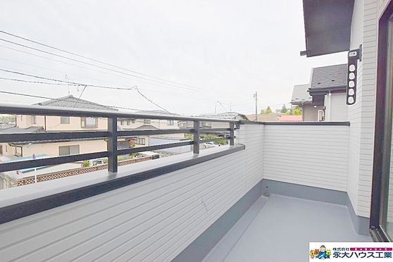 新築一戸建て-仙台市泉区将監4丁目 バルコニー