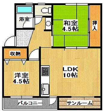 マンション(建物一部)-神戸市垂水区上高丸1丁目 間取り