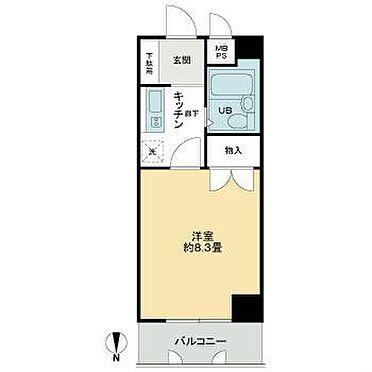 マンション(建物一部)-大阪市中央区内平野町2丁目 間取り