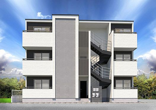 アパート-江戸川区東小岩4丁目 外観パース