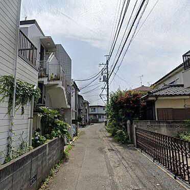 アパート-昭島市松原町4丁目 前面道路