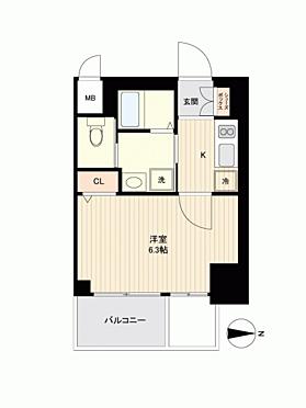 マンション(建物一部)-大阪市浪速区塩草3丁目 間取り