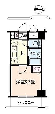 マンション(建物一部)-中野区大和町1丁目 【間取】1K