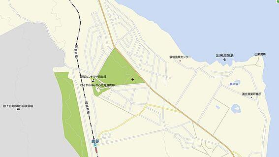土地-茅部郡鹿部町字本別 地図