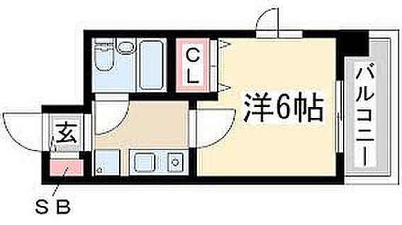 マンション(建物一部)-大阪市東淀川区東中島1丁目 間取り