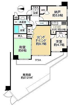 区分マンション-国分寺市東恋ヶ窪4丁目 専用庭・テラス付きの2SLDK ペット飼育可(管理規約に制限有)のマンションです