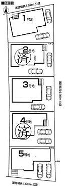 戸建賃貸-春日井市上条町2丁目 全体区画図