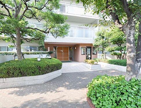 マンション(建物一部)-大阪市平野区加美北5丁目 緑豊かなアプローチ