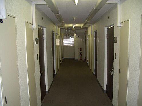 マンション(建物一部)-豊島区巣鴨5丁目 廊下の幅も広く歩きやすいです。