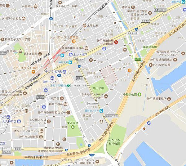 兵庫県神戸市中央区磯上通4丁目