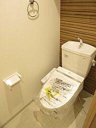 温水洗浄機能付 吊り戸棚付